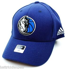 online store 6b06c cfcd4 Image is loading Dallas-Mavericks-Adidas-TX19Z-NBA-Basketball-Stretch-Fit-