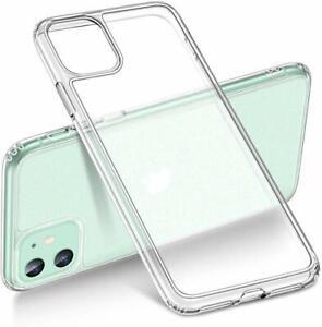 iPhone-11-Case-Clear-Slim-Soft-Shockproof-Silicone-TPU-Back-Bumper-Corners-Cover