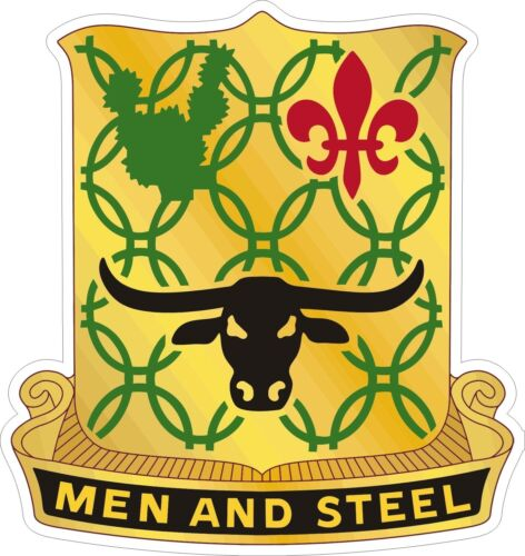 Army 149th Armor Regiment Decal Sticker  U.S