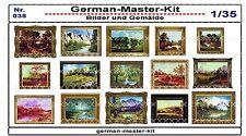 038, Diorama Zubehör Serie Bilder und Gemälde, 1:35, GMKT World of War II