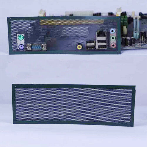 2x I//O Shield Without Any Opening Blank Backplate Baffle For All Motherboard DIY