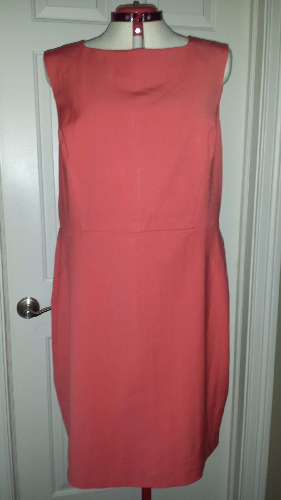 NWT Talbots Sleeveless Sheath Dress Size 20 W