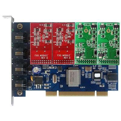 tdm400p 3FXO+1 FXS card asterisk Card For Issabel Freepbx Centos tdm410p FXO FXS