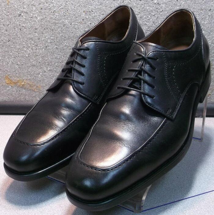 152435 WT50 Men's Shoes Size 8.5 M Black Leather Johnston Murphy Walk Test