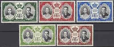 LiebenswüRdig Monaco Nr.473/477 Ehe FÜrstlicher Neuf Luxe Mnh KöStlich Im Geschmack Briefmarken