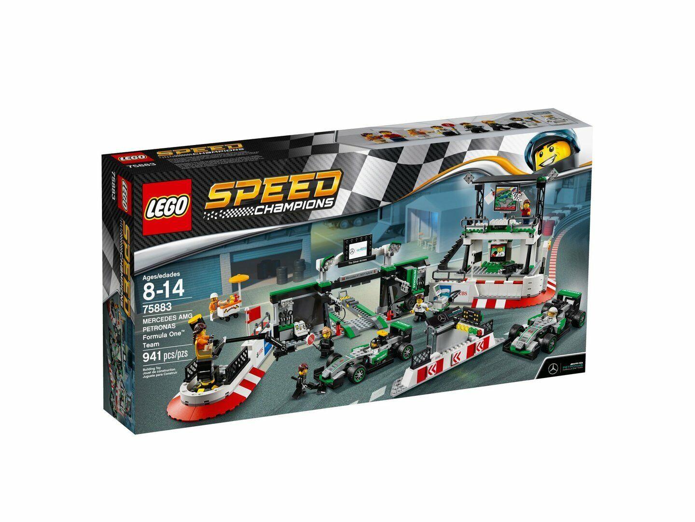 Lego Speed Campioni 75883 Mercedes AMG Petronas Formula One ™ Squadra