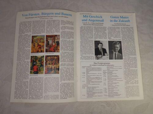 1985 36 Seiten, 650 Jahre Stadt Seßlach Kleinod des Coburger Landes Coburg
