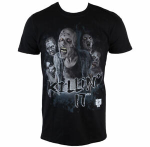 Herren-T-Shirt-The-Walking-Dead-Thi-Killin-It-PLASTIC-HEAD-Groesse-S