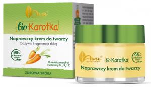 AVA bio Karotka krem naprawczy do twarzy/ bio Carrot recovery day cream