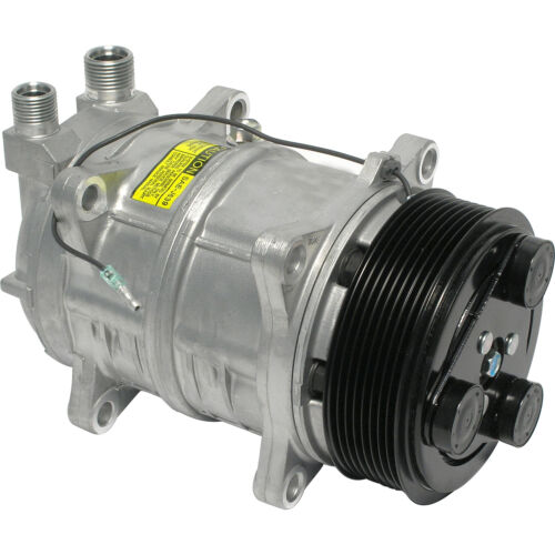 Diesel Kiki  Compressor 8 Groove 3//4 x 7//8 Fittings New Seltec 488-46121 Tama
