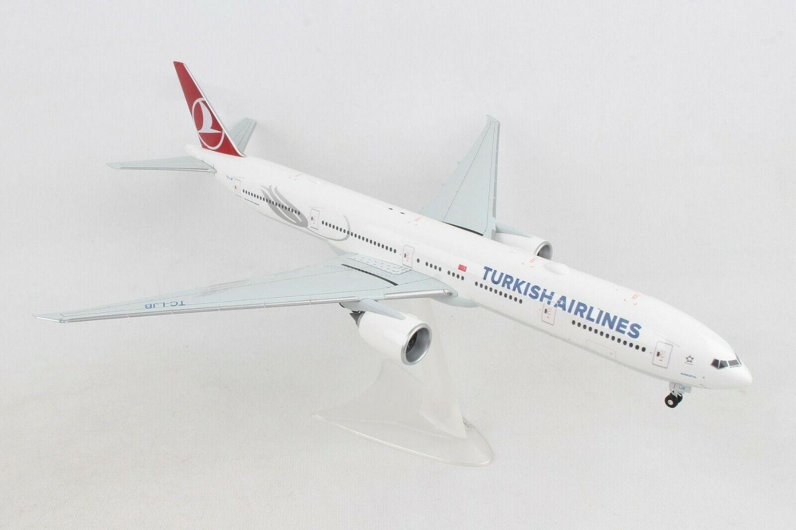 HE559379 Herpa Wings Turkish Airlines Boeing 777-300ER 1 200 Plastic Model