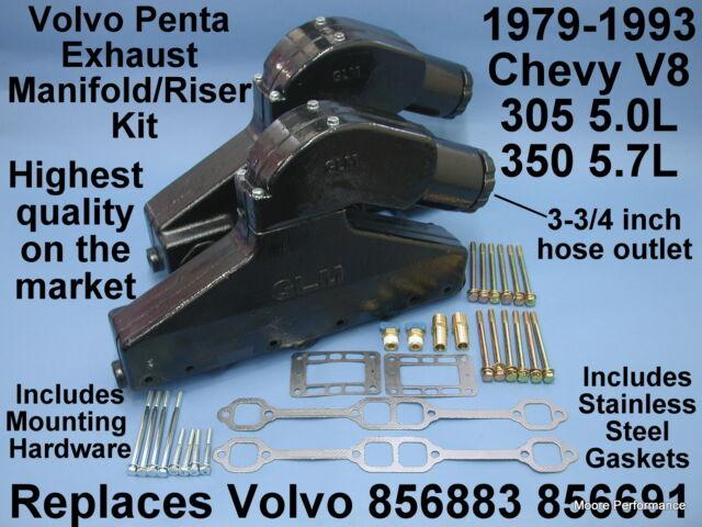 Volvo Penta 350 Marine Exhaust Manifold Studs kit
