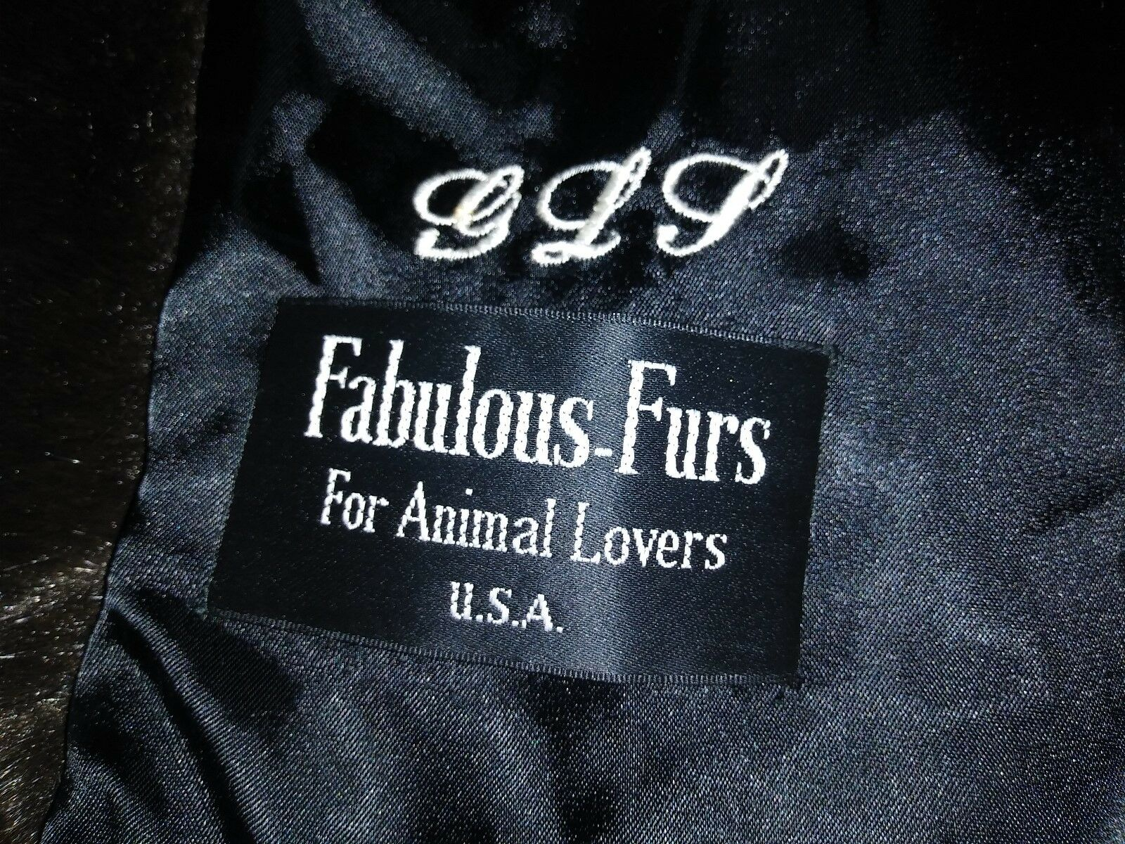 FABULOUS FUR COAT SMALL 42  TALL DARK BROWN