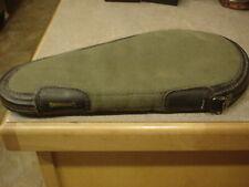 "13"" Handgun Rug NEW! Browning Buckmark Black Taupe Cimmaron Pistol"
