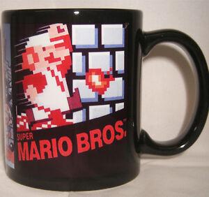 SUPER MARIO BROS retro coffee MUG CUP ART Nintendo NES | eBay