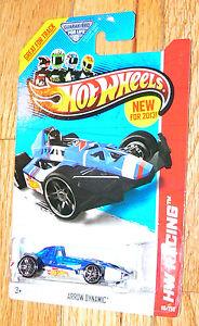 HW HOT WHEELS 2013 HW RACING #110//250 ARROW DYNAMIC INDY CAR HOTWHEELS WH VHTF