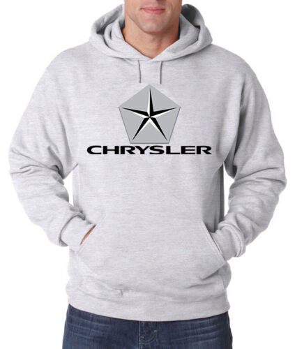 Chrysler CARS SUV Trucks NEW Men/'s HOODIE FRUIT OF THE LOOM PRINT BY EPSON