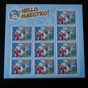 Bloc-Sheet-N-139-Hello-Maestro-N-5171-Neuf-Luxe-Mnh