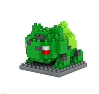 LOZ Nano Mini Diamond Building Blocks Lego Toy Pokemon Pocket Monster Bulbasaur