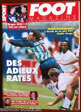 FOOT Magazine du 15/3/1995; Preud'homme/ André Duchêne/ Gilles De Bilde