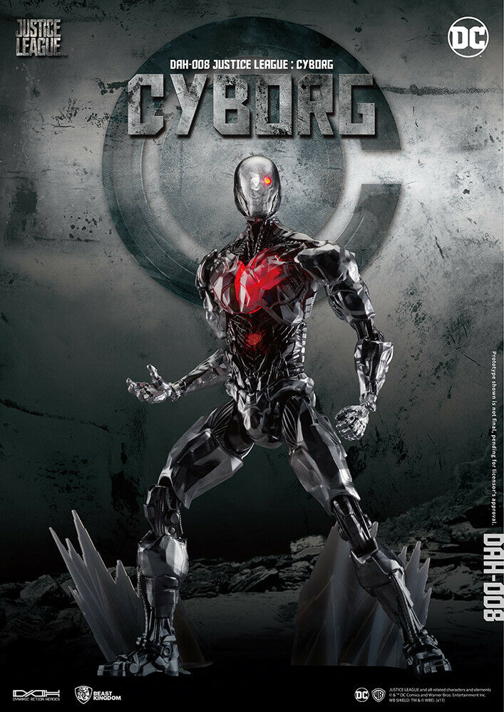 DOM  59184 JUSTICE LEAGUE CYBORG DAH