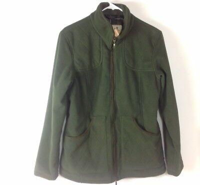 official shop size 7 pretty nice Barbour Women Dunmoor Fleece Jacket Range Olive Size 14 Sporting ...
