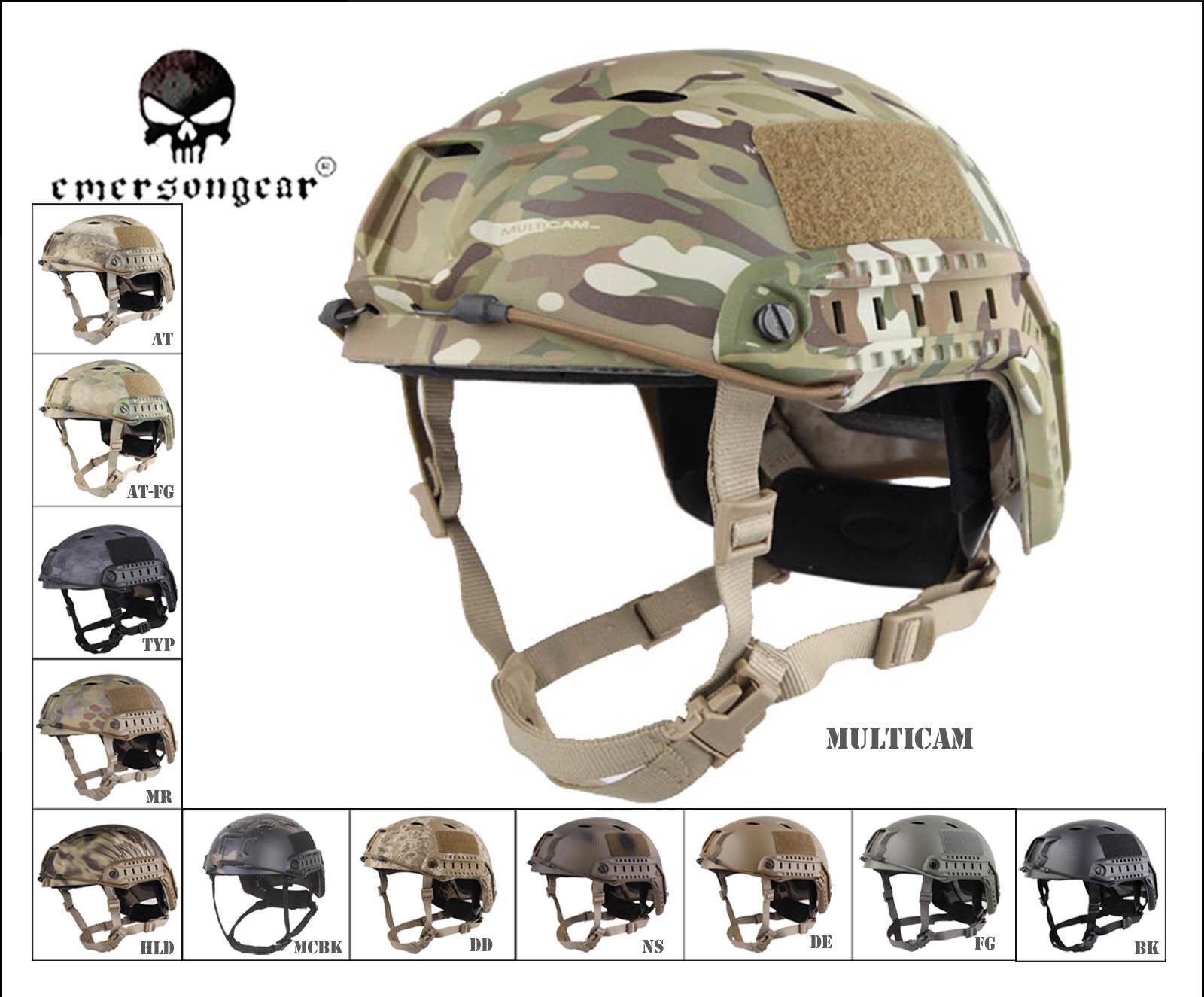 EMERSON  Military Airsoft Helmet Combat Fast Helmet BJ Predective Helmet EM5659  at the lowest price