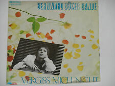 "BERNWARD BÜKER BANDE -Vergiss mich nicht- 7"" 45"