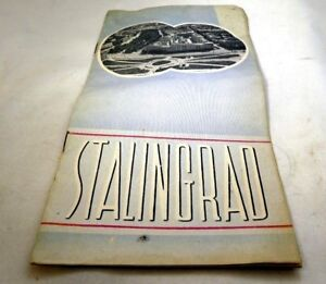 Visit The USSR STALINGRAD INTURIST Hotel Brochure Booklet 1950-60's