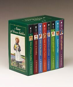 NEW BOOK Anne of Green Gables Complete 8 Book Box Set by Lucy Maud Montgomery