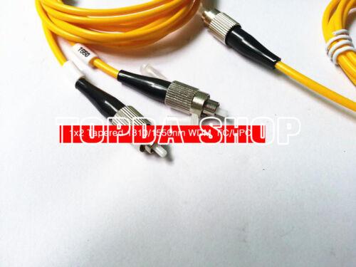 1PC 1x2 Tapered 1310//1550nm WDM FC//UPC Tapered WDM multiplexer#SS