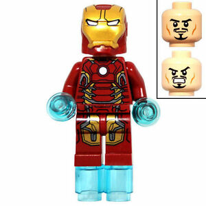 LEGO Avengers Age of Ultron Iron Man Mark 43 Minifigure new from set 76038