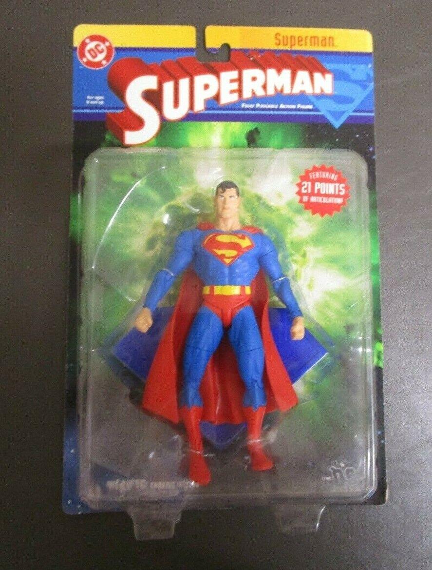 Superman 2003 DC DIRECT ACTION FIGURES 21 Points of Articulation MOC GV