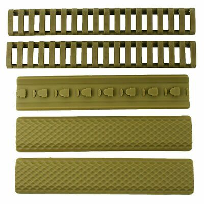 "6PCS KeyMod Covers Textured Soft Rubber Panel Anti Slip 6.25/"" HOT SALE Beft"