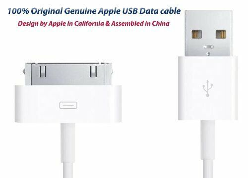 New OEM Authentic Original  30Pin USB Data Sync Cable Charger Apple iPad 1 2 3