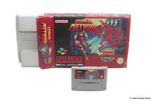 Super Metroid Super Nintendo SNES PAL Big Box Edition BOXED