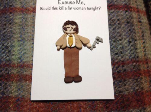 Greetings Card Handmade League Of Gentlemen Geoff Tipps Any Occasion Birthday