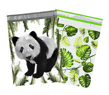 10x13 Tropical Palm Leaves Amp Panda Bear Poly Mailers Usps Shipping Mailing Bags