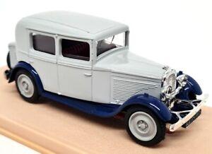 Eligor 1/43 - Peugeot 201 Berline 1931 Grey / Blue 1016 Diecast Model Car