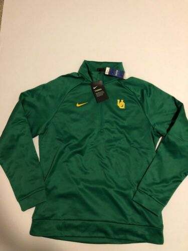 2 Oregon 1 uo Pine Nike Hombre uo Nwt Ducks 2xl Green Zip Therma Top wCHAA6q