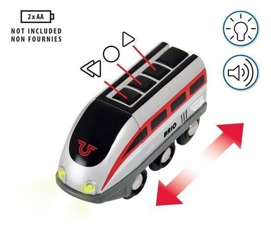 FERROVIA SMART TECH locomotiva e e e tunnel azione Brio 33873 treno intelligente a8a819