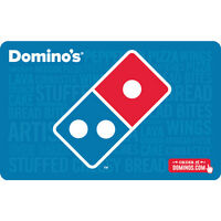 $25 Domino's Physical Gift Card