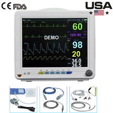 New Listingvet Monitor Vital Signs Veterinary 6 Parameter Ecg Patient Monitor Vet Use