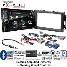 Kenwood Excelon Double Din DVD CD Player Car Install Kit Harness Bluetooth W/ XM