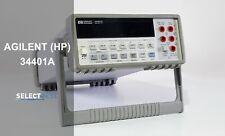 Agilent Hp 34401a 6 Digits Bench Digital Multimeter Look Ref 119g