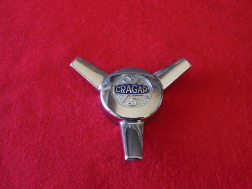 CRAGAR CLASSIC WHEELS S//S Custom Wheel Center Cap Chrome Finish E2046