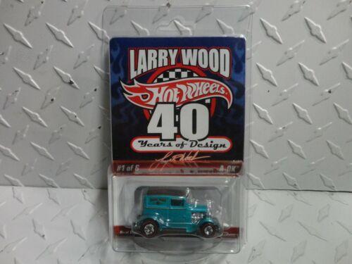 Hot Wheels RLC Larry Woods 40 Years of Design Aqua A-OK