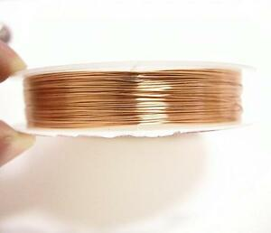 1 roll 25 meters COPPER wire 0.35mm gauge 29 thickness-7518