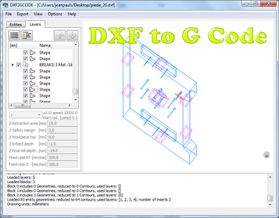 Software for Converting 2D DXF Drawings to CNC Machine G-Code milling | eBay