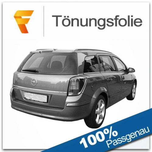 Tönungsfolie passgenau Opel Astra H Caravan Bj 2004-2010